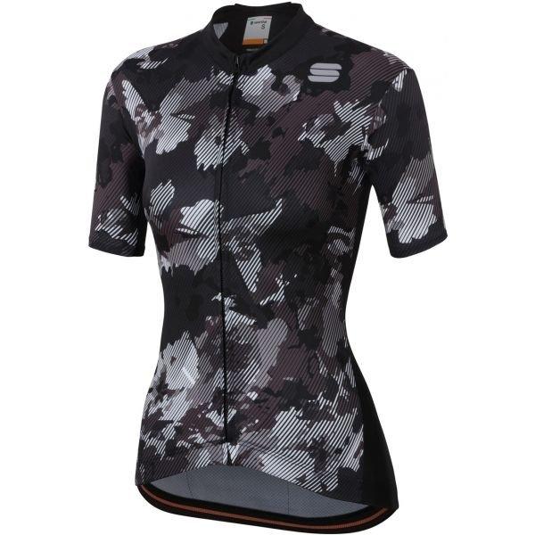 Černo-šedý dámský cyklistický dres Sportful