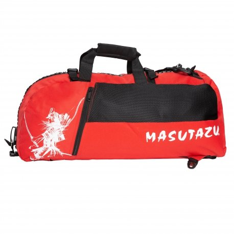Červená sportovní taška MASUTAZU - objem 40 l
