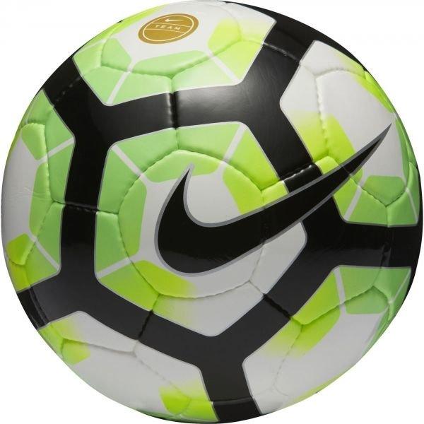 Bílo-zelený fotbalový míč Nike