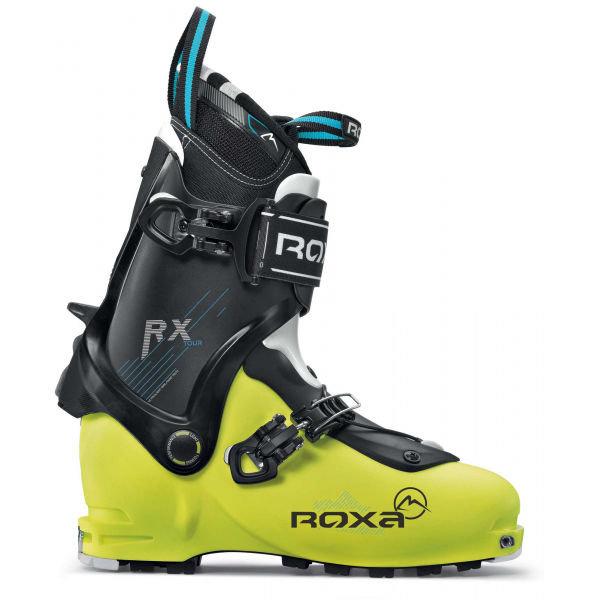 Černo-žluté pánské skialpové boty Roxa