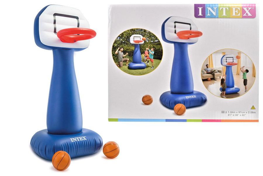 Basketbalová sada - Basketbalový koš Intex Shootin' Hoops Set 57502NP