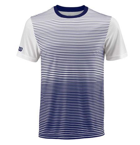 Bílo-modré pánské tenisové tričko Wilson - velikost XXL