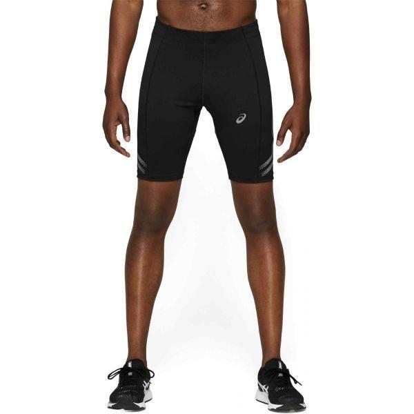 Černé pánské běžecké kraťasy Asics