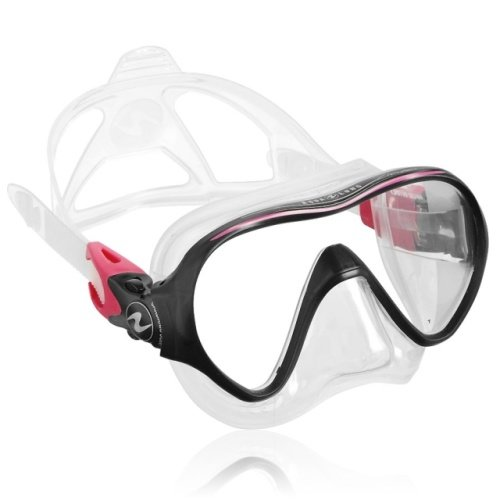 Růžová potápěčská maska Linea, TECHNISUB