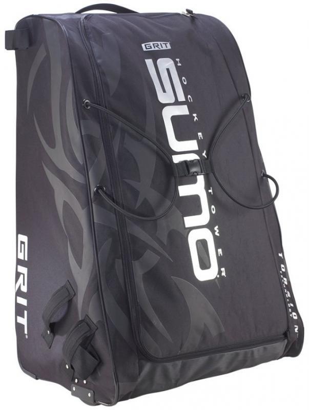 Černá taška na hokejovou výstroj Grit