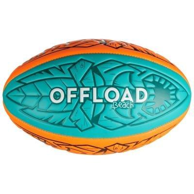 Červený míč na ragby TIKI, Offload - velikost 1