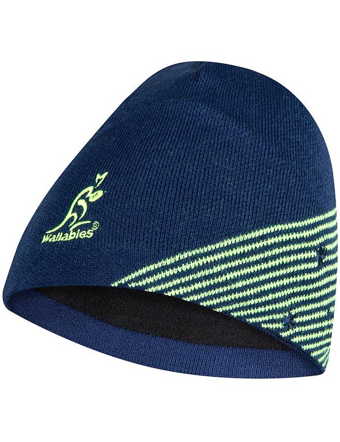 Modrá pánská zimní čepice Asics - velikost 56 cm