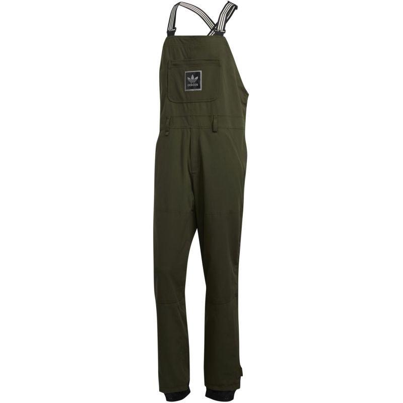Zelené pánské snowboardové kalhoty Adidas - velikost L