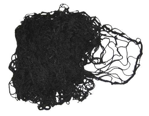 Černá florbalová síť Pokorný sítě - šířka 90 cm a výška 60 cm