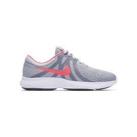 ed92abfe85d Šedé dětské dívčí běžecké boty - obuv REVOLUTION 4