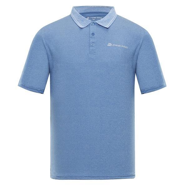 Modrá pánská polokošile s krátkým rukávem Alpine Pro - velikost S