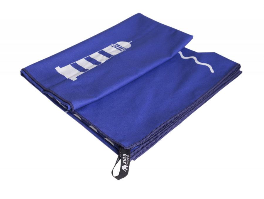 Ručník - Ručník Zulu Light 60x120 cm moře Barva: modrá