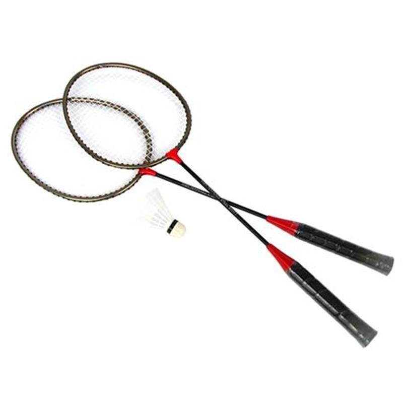 Sada na badminton - SPOKEY - BADMNSET1 Sada na badminton - 2 x raketa, košíček, obal