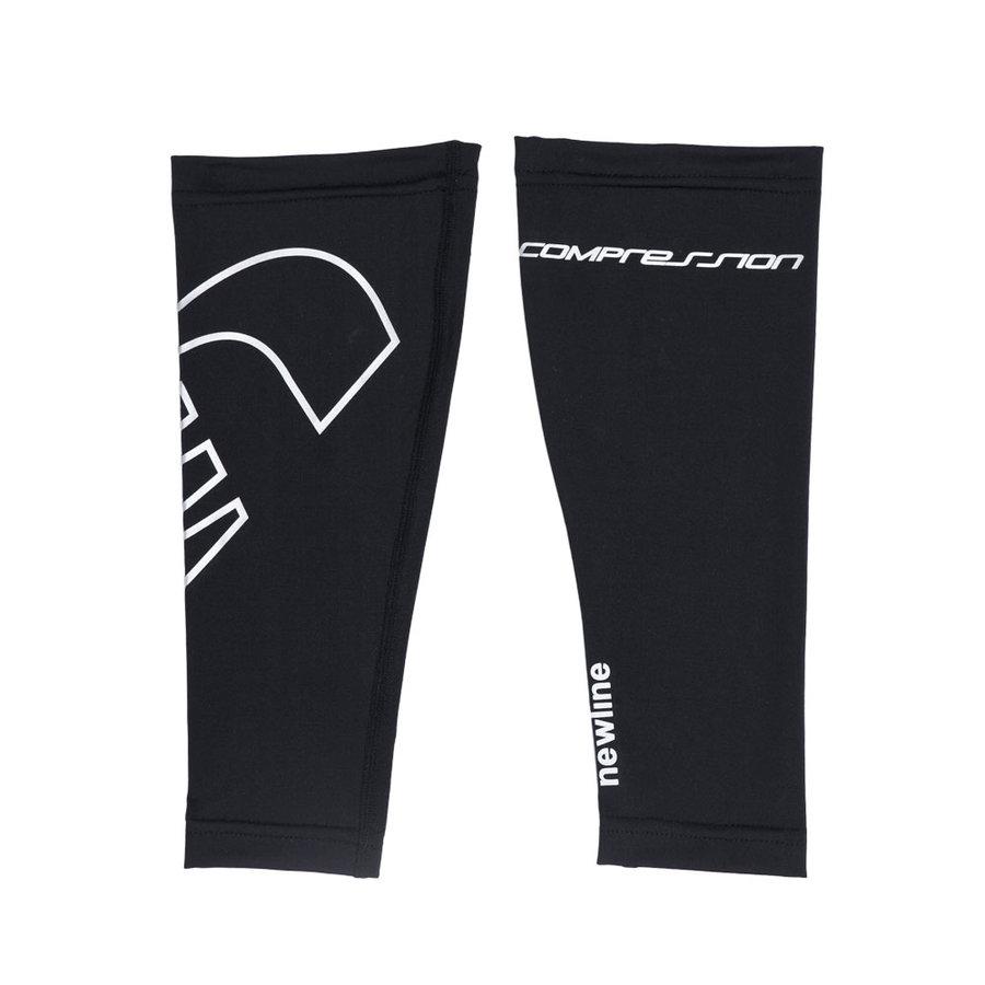 Černé cyklistické návleky na nohy Newline - velikost S
