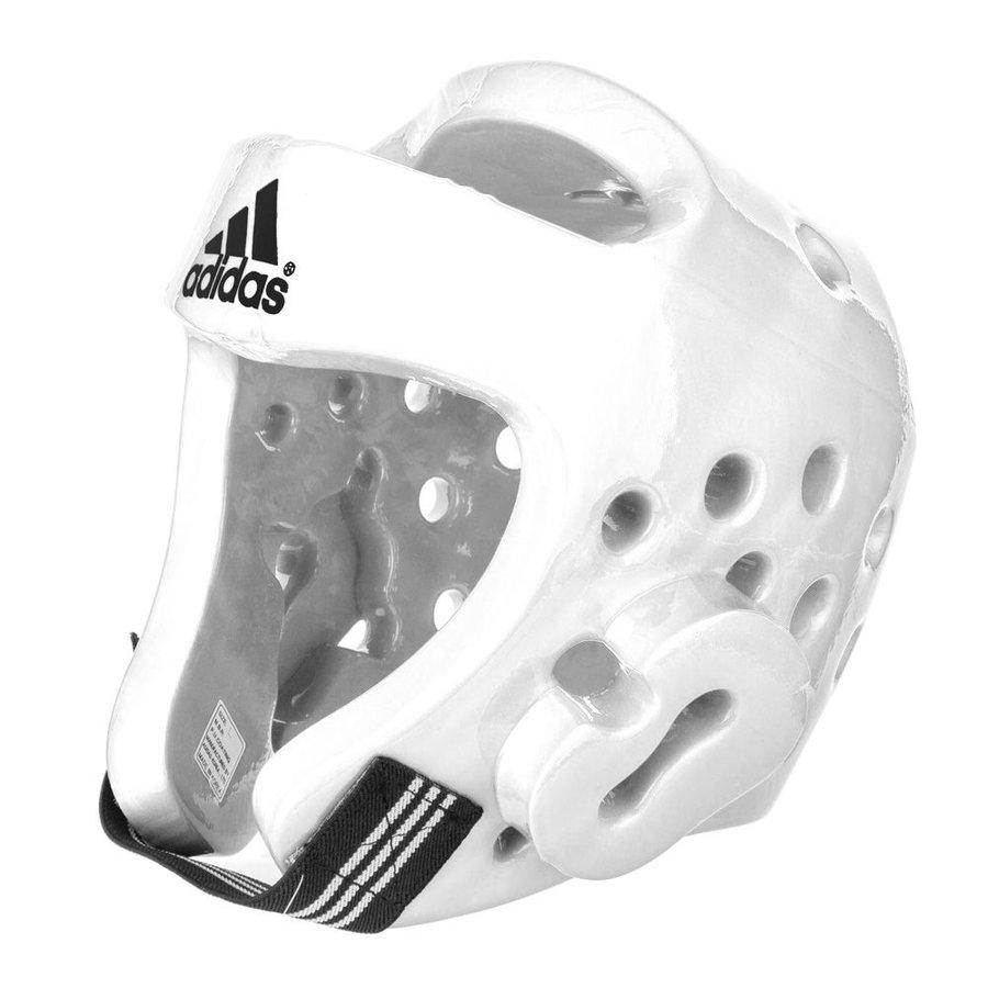 Bílá boxerská přilba Adidas - velikost XL
