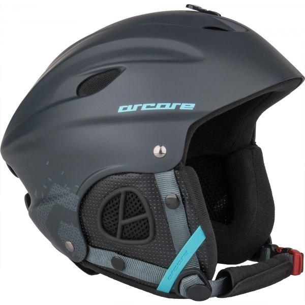 Šedá lyžařská helma Arcore