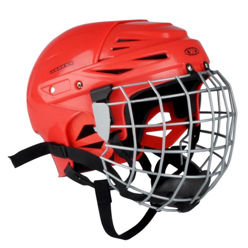 Hokejová helma - Hokejová přilba WORKER Kayro Barva černá, Velikost XS (48-52)