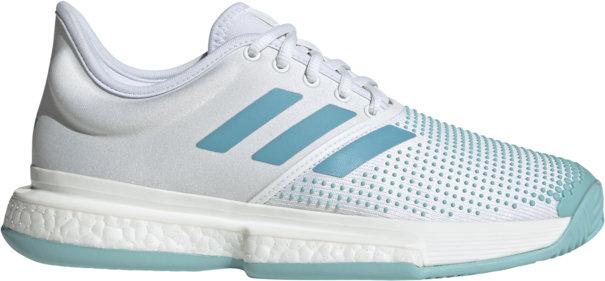 Bílá dámská tenisová obuv SoleCourt Boost Parley, Adidas - velikost 40 EU