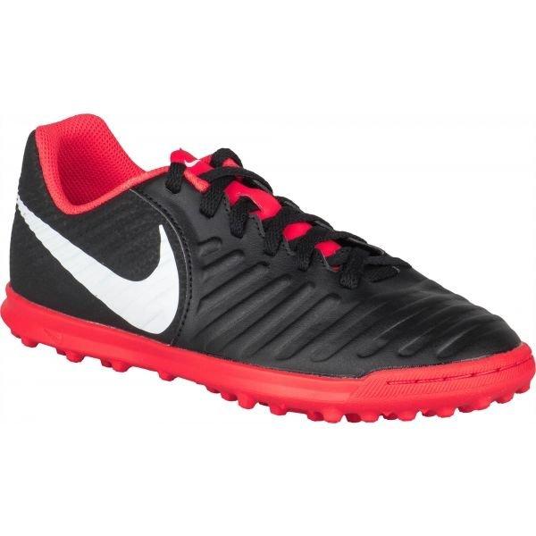 Černé dětské kopačky turfy Nike
