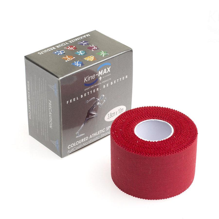 Červená tejpovací páska kine-max - délka 10 m a šířka 3,8 cm