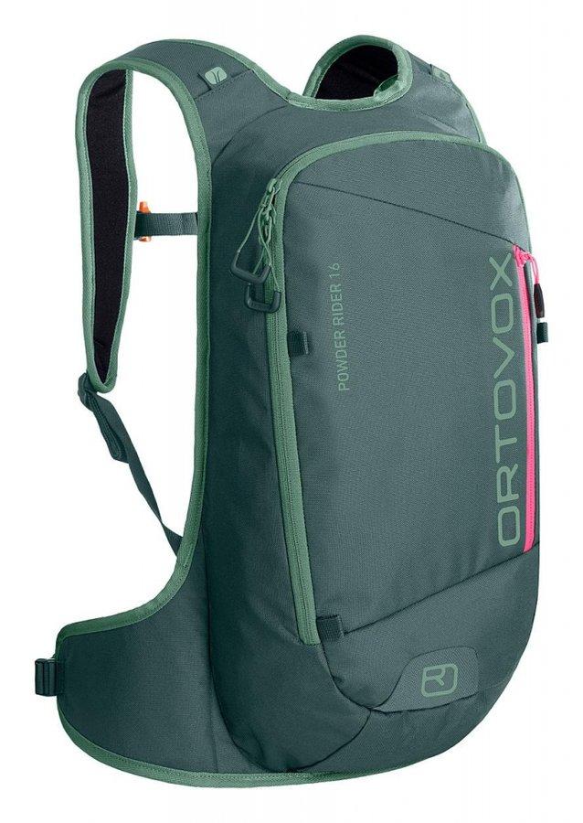 Zelený skialpový batoh Ortovox - objem 16 l