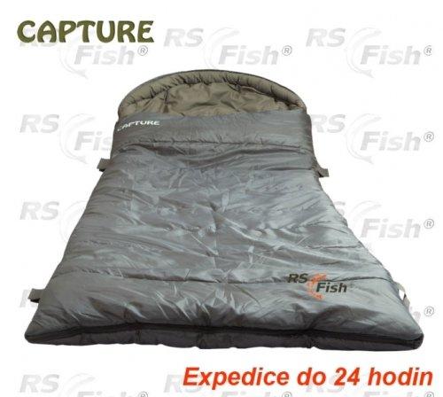 Šedý spací pytel JAF Capture - délka 230 cm