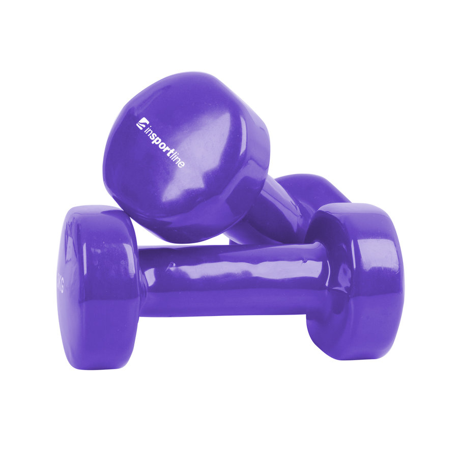 Činky na aerobik inSPORTline - 1 kg - 2 ks
