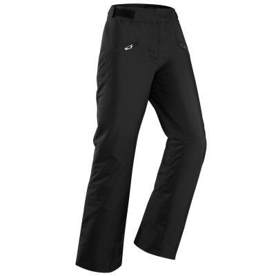Černé dámské lyžařské kalhoty Wed'ze