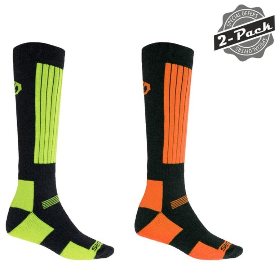 Zelené pánské ponožky Sensor - velikost 40-42 EU - 2 ks