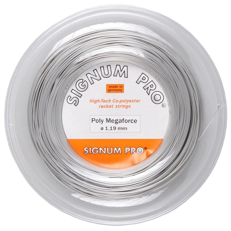 Tenisový výplet Pro Poly Mega Force, Signum - průměr 1,24 mm a délka 200 m
