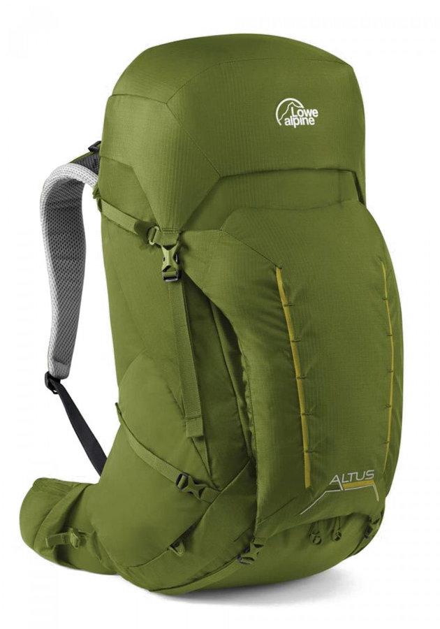Zelený skialpový batoh Lowe Alpine - objem 57 l