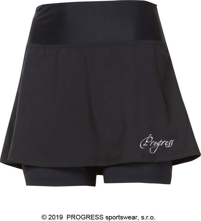 Černá dámská běžecká sukně Progress