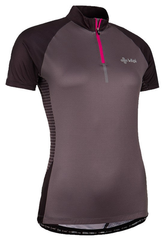 Šedý dámský cyklistický dres Kilpi
