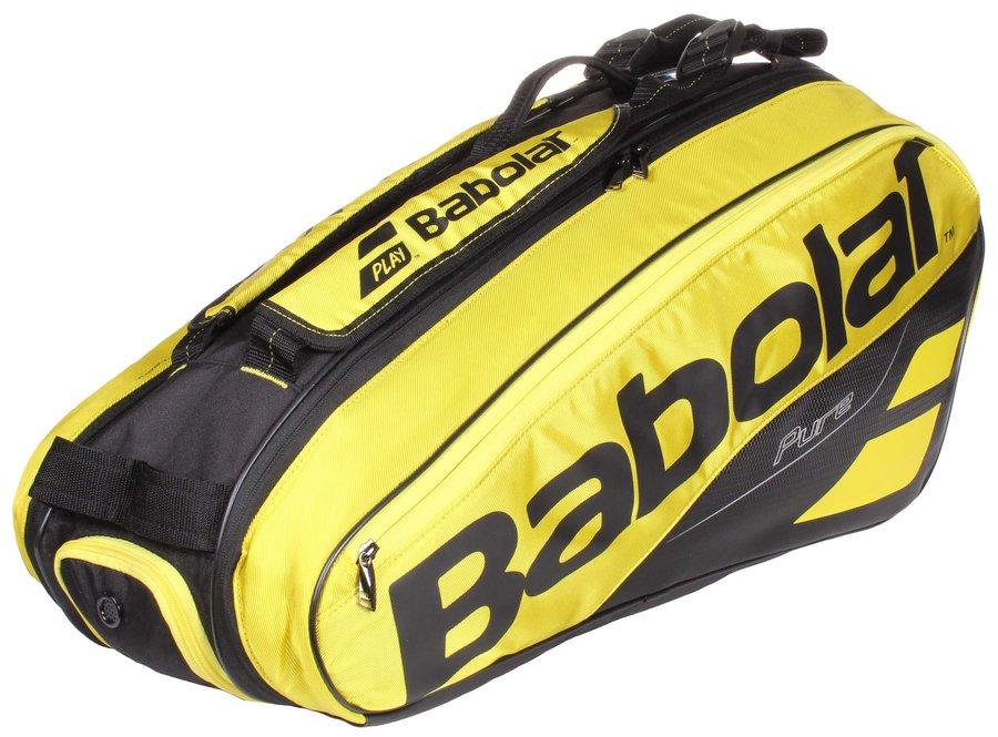 Černo-žlutá tenisová taška Babolat