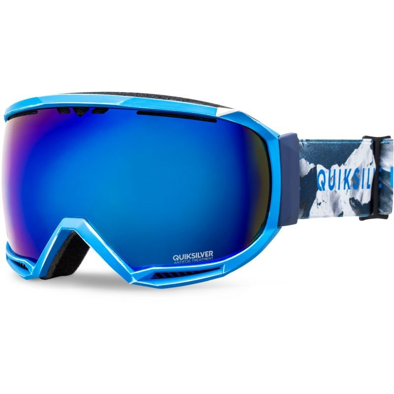 Modré pánské lyžařské brýle Quiksilver