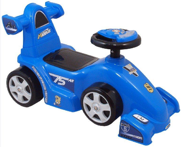 Modré dětské odrážedlo Baby Mix