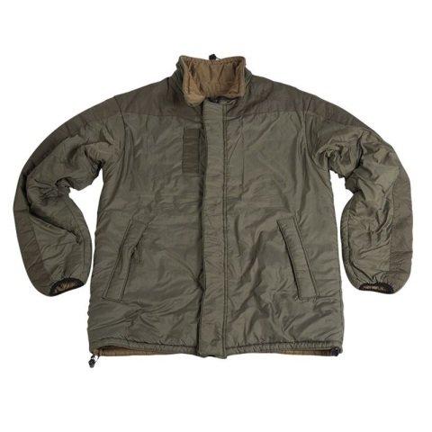 Vojenská bunda - Bunda BRITSKÁ/HOLANDSKÁ oboustr. ZELENÁ/KHAKI