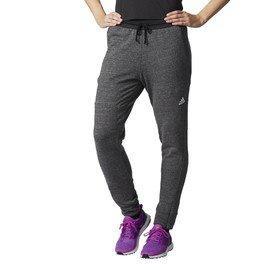 Šedé dámské tepláky Adidas - velikost M