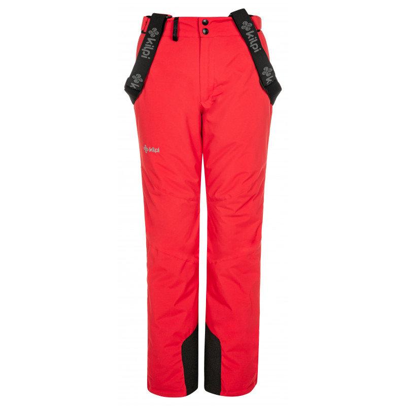 Červené dámské lyžařské kalhoty Kilpi