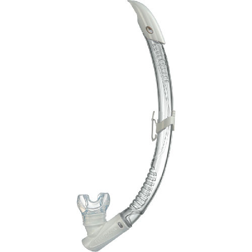 Bílý šnorchl Airflex Purge LX, Aqualung