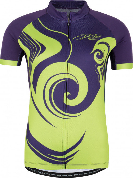 Fialový dámský cyklistický dres Kilpi