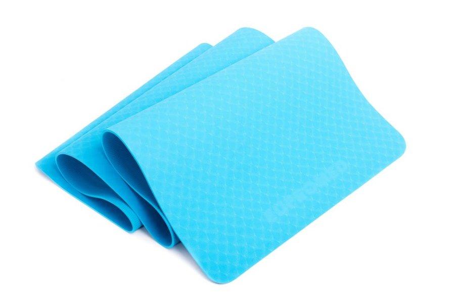 Modrá podložka na cvičení EUPROMED