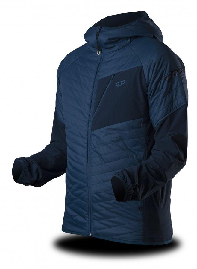 Modrá zimní pánská bunda s kapucí Trimm - velikost S