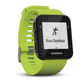 Zelený sporttester Forerunner 35, Garmin