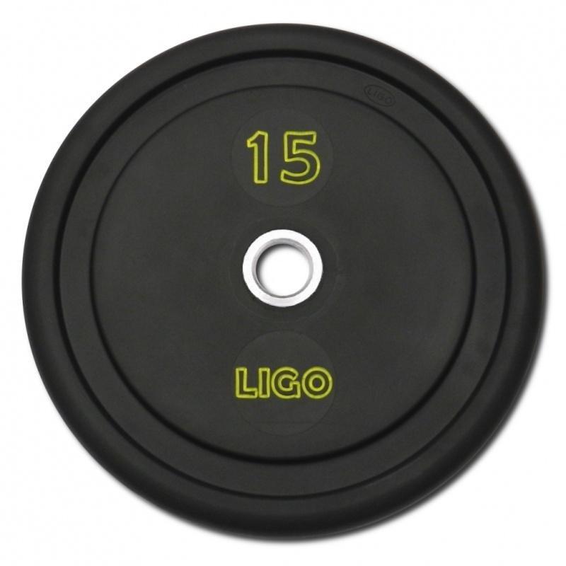 Kotouč na činky - Kotouč Legpress LIGO - 15 kg