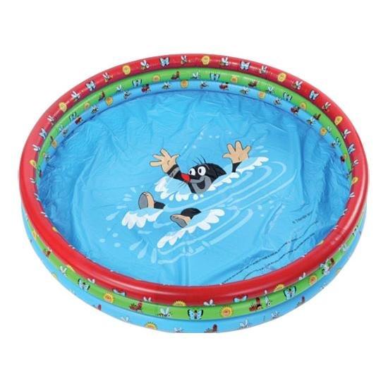 Dětský nafukovací nadzemní kruhový bazén Wiky - průměr 122 cm a výška 22 cm
