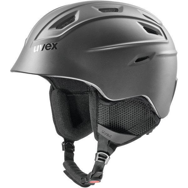 Černá dámská lyžařská helma Uvex - velikost 55-59 cm