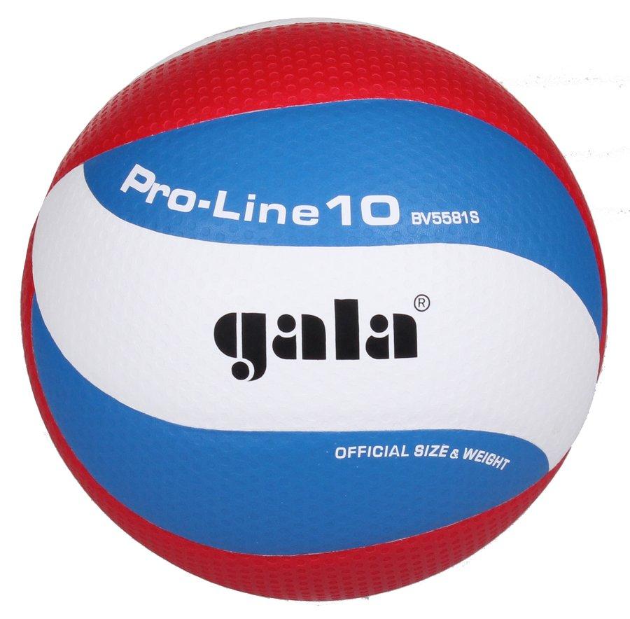 Různobarevný volejbalový míč BV5581S, Gala - velikost 5