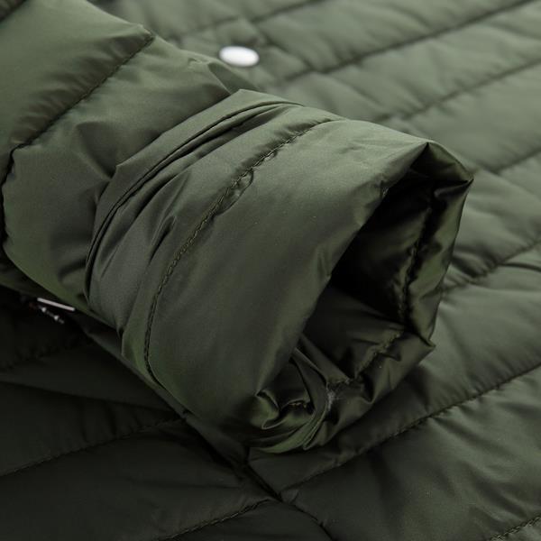 Černý prošívaný dámský kabát Alpine Pro - velikost XXL