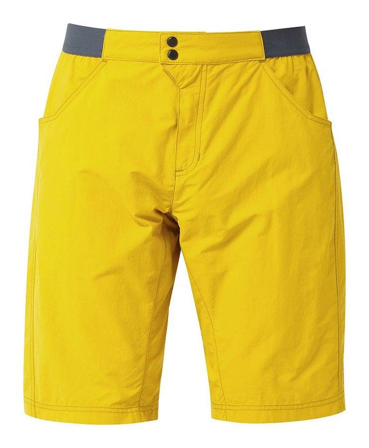 Žluté pánské turistické kraťasy Mountain Equipment